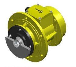 flanged_vibratiom motor